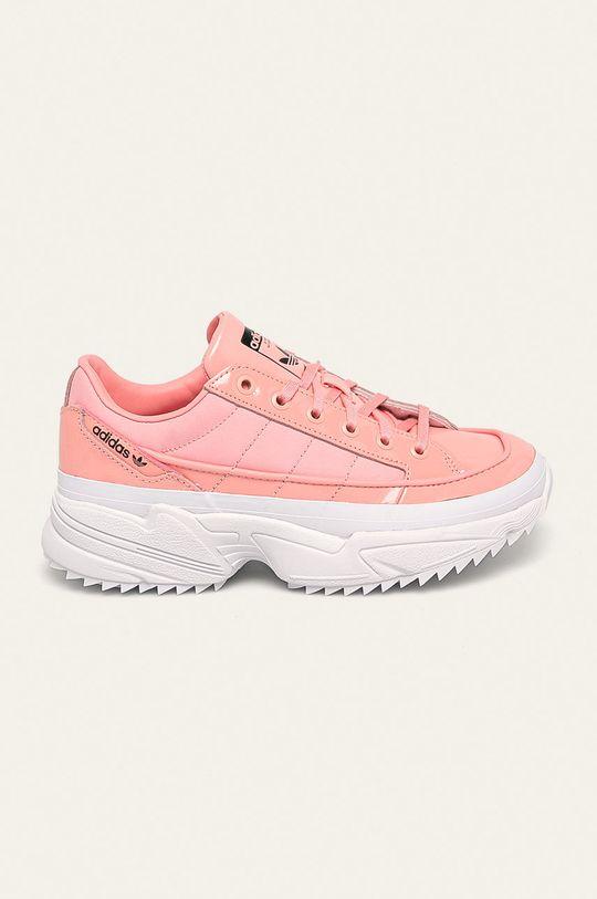 sýto ružová adidas Originals - Topánky Kiellor Dámsky