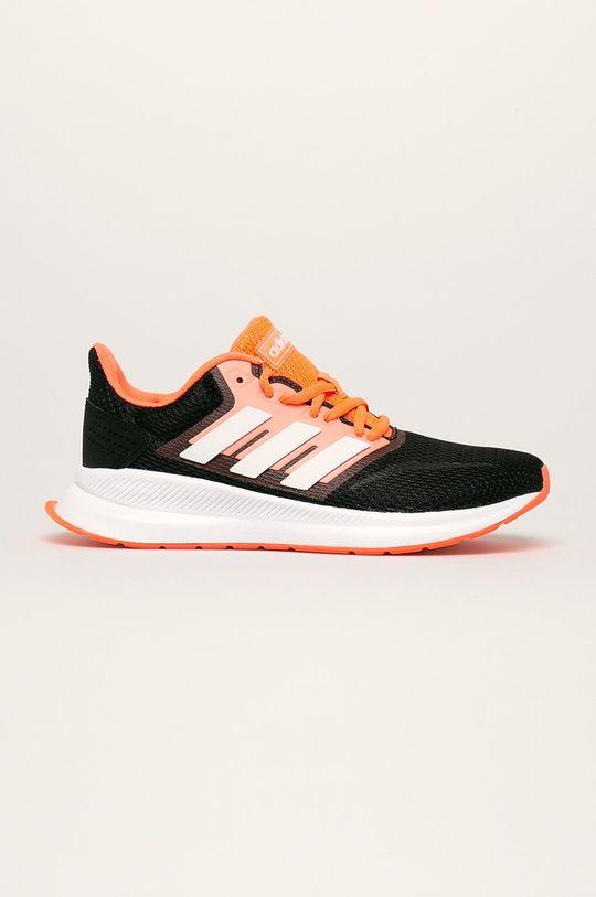 čierna adidas - Topánky Runfalcon Dámsky