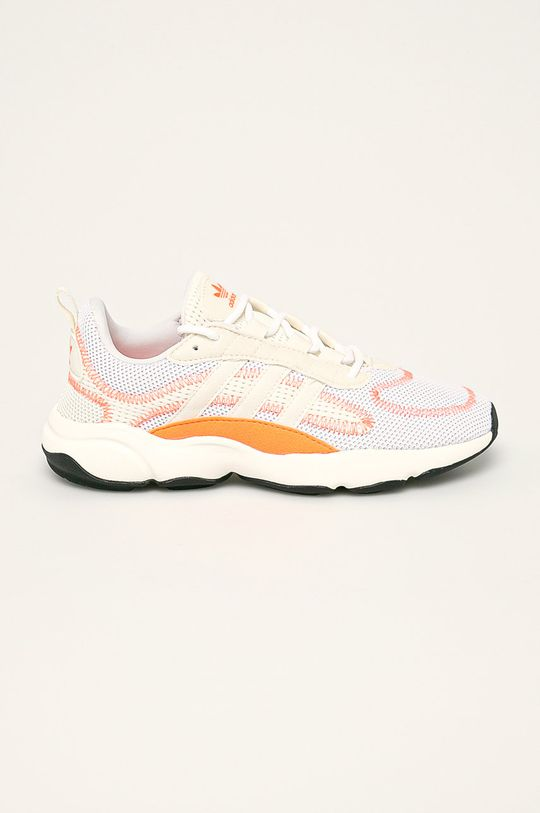oranžová adidas Originals - Topánky Haiwee Dámsky