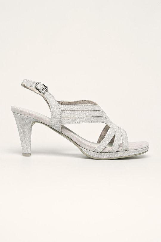 argintiu Marco Tozzi - Sandale De femei