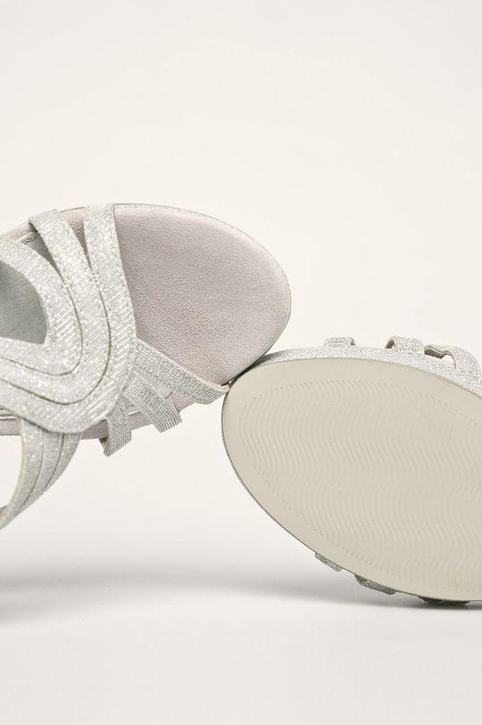 argintiu Marco Tozzi - Sandale