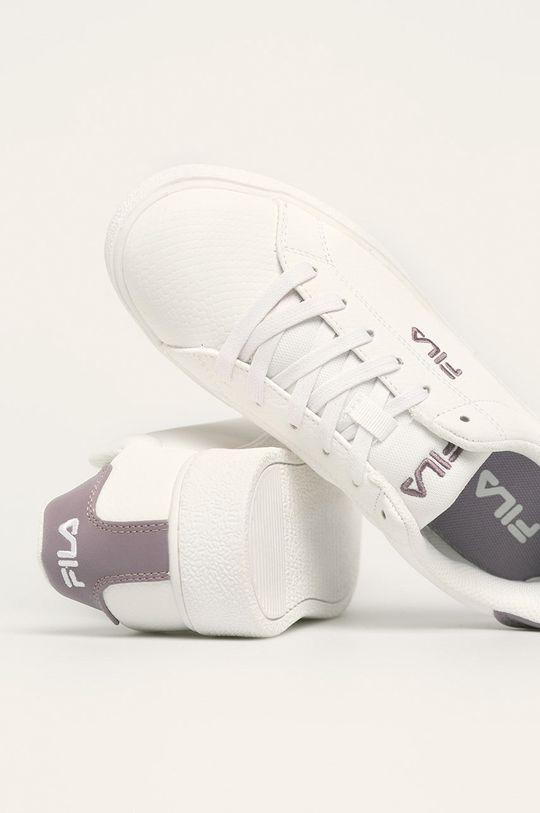alb Fila - Pantofi Upstage F low