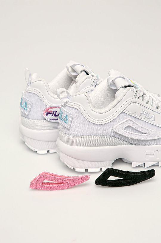 Fila - Pantofi Disruptor Patches alb