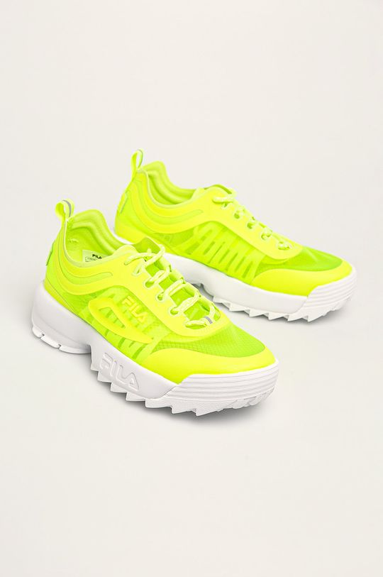 Fila - Pantofi Disruptor Run galben