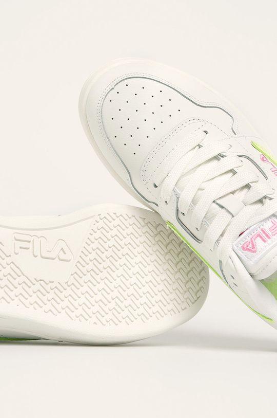 Fila - Kožené boty Arcade F Low Svršek: Přírodní kůže Vnitřek: Textilní materiál Podrážka: Umělá hmota