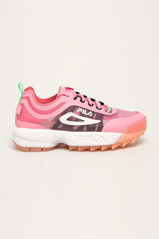 ostry różowy Fila - Buty Disruptor Run CB Damski