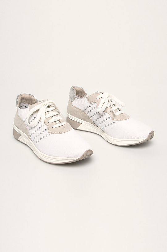Marco Tozzi - Topánky biela