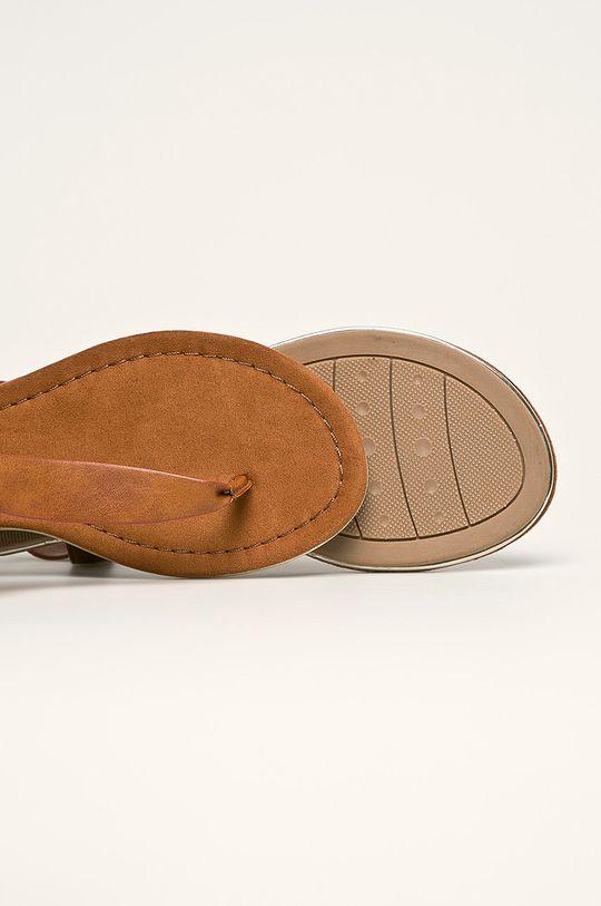 brązowy Marco Tozzi - Sandały