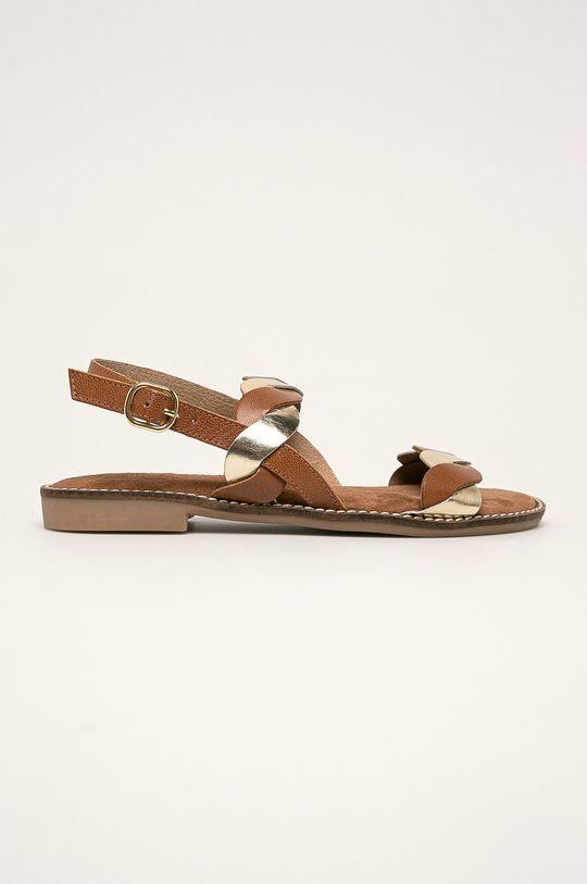 maro Marco Tozzi - Sandale de piele De femei