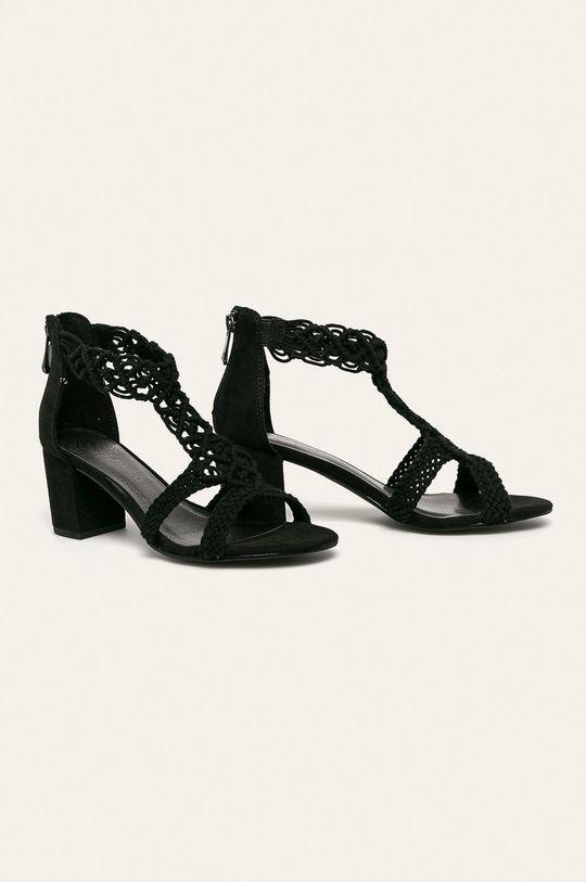 Marco Tozzi - Sandále čierna
