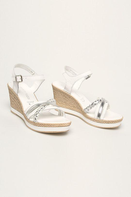 Marco Tozzi - Sandále biela