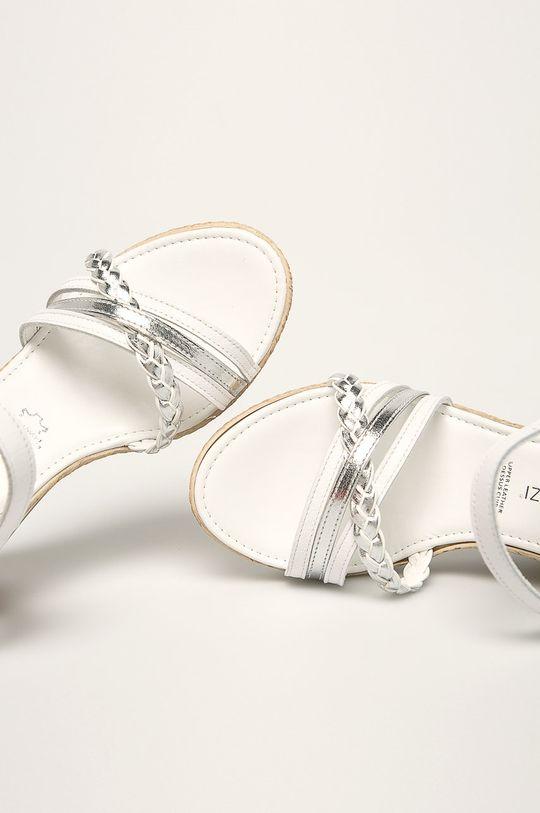 biela Marco Tozzi - Sandále