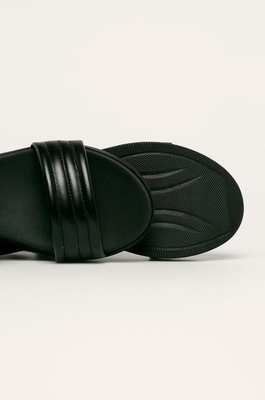 черен Marco Tozzi - Кожени сандали