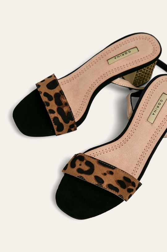 Corina - Sandále zlatohnedá