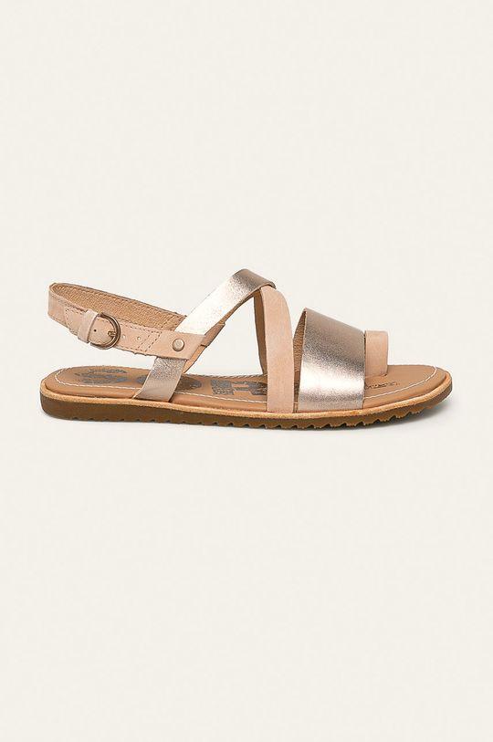 aur Sorel - Sandale de piele Ella Criss Cross De femei