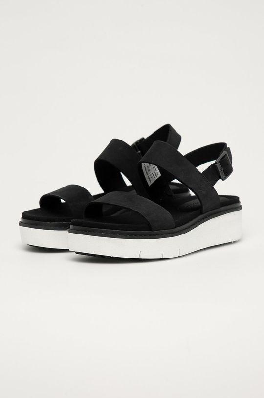 Timberland - Kožené sandály Safari Dawn černá