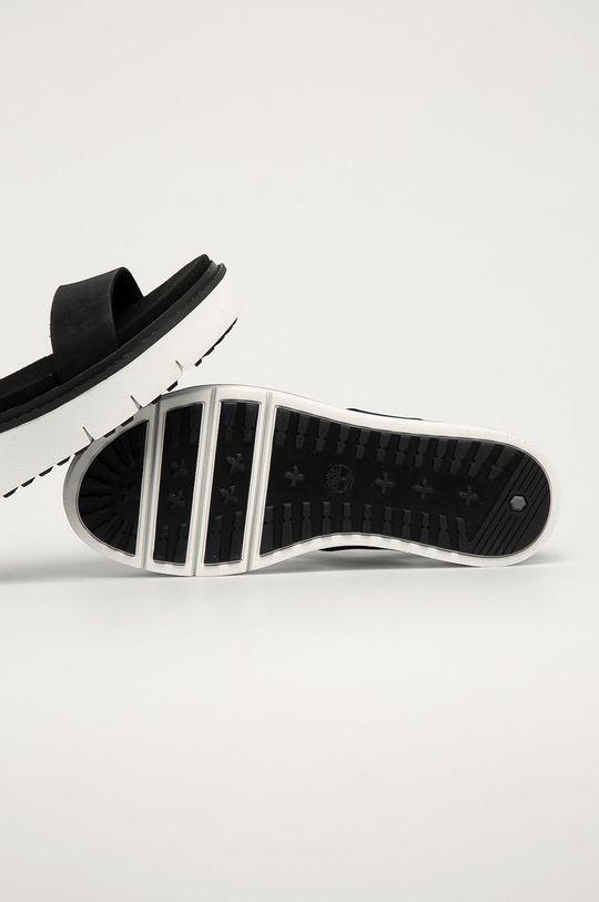 černá Timberland - Kožené sandály Safari Dawn