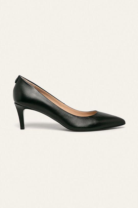negru Patrizia Pepe - Stilettos de piele De femei