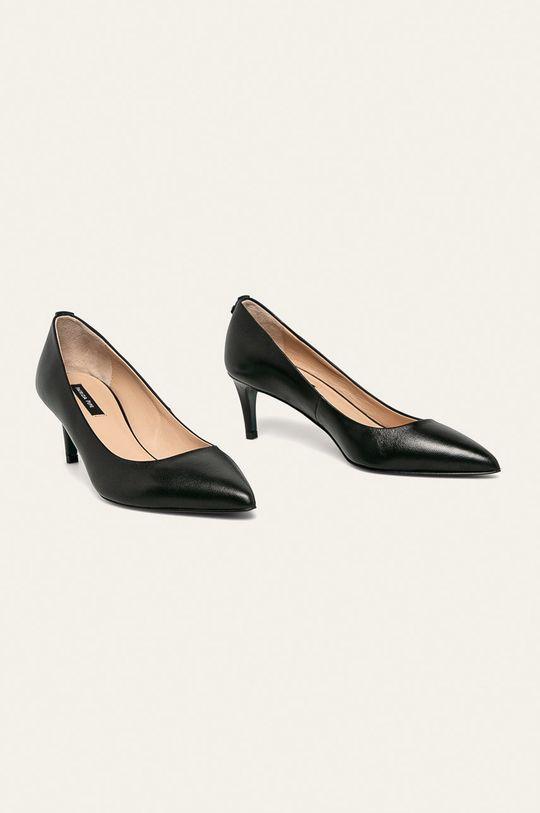 Patrizia Pepe - Stilettos de piele negru