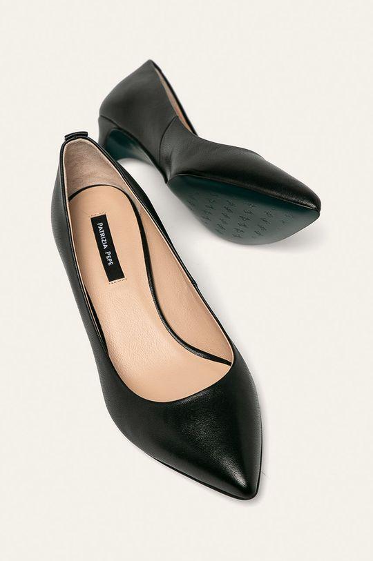 negru Patrizia Pepe - Stilettos de piele