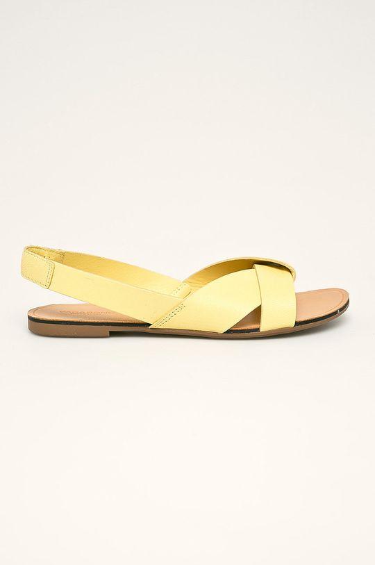 žlutá Vagabond - Kožené sandály Tia Dámský