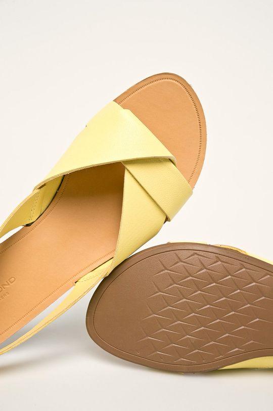 žlutá Vagabond - Kožené sandály Tia