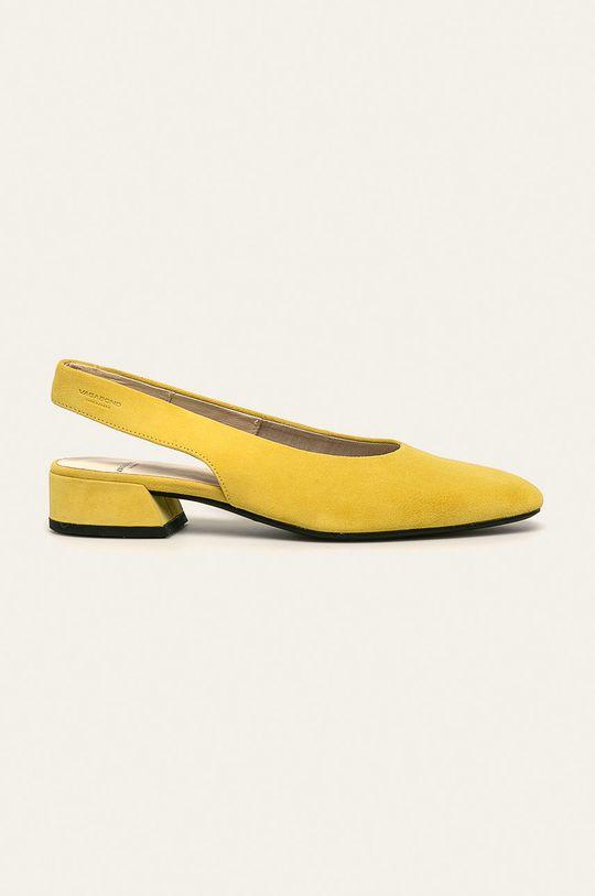 жовтий Vagabond - Шкіряні туфлі Joyce Жіночий