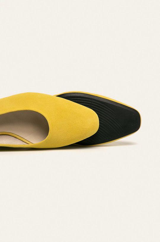 жовтий Vagabond - Шкіряні туфлі Joyce