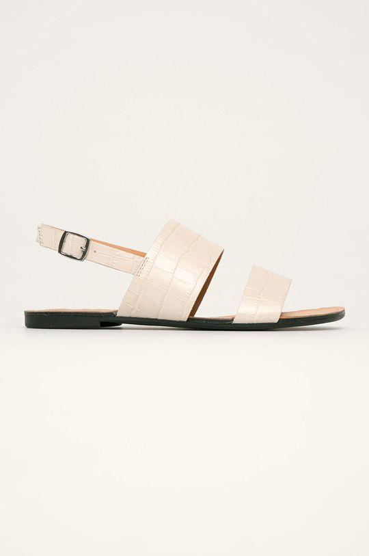 biały Vagabond - Sandały skórzane Tia Damski
