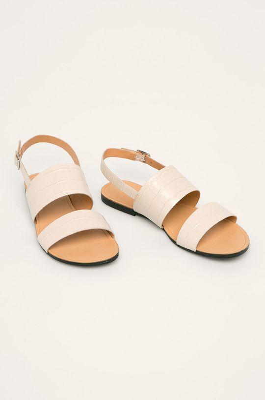 Vagabond - Sandały skórzane Tia biały