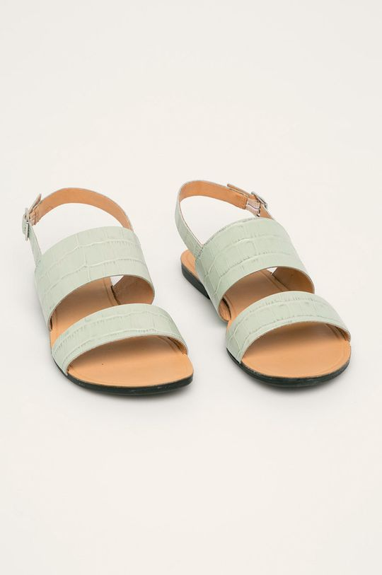 Vagabond - Sandały skórzane Tia miętowy