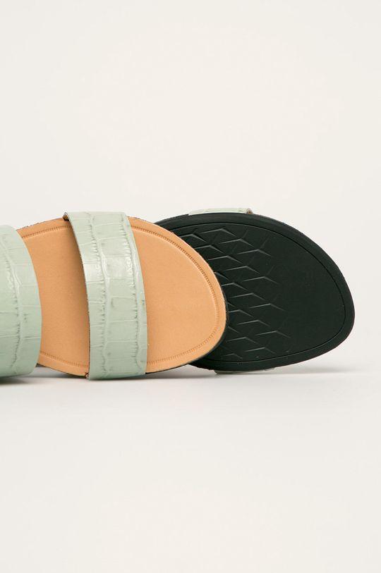 miętowy Vagabond - Sandały skórzane Tia