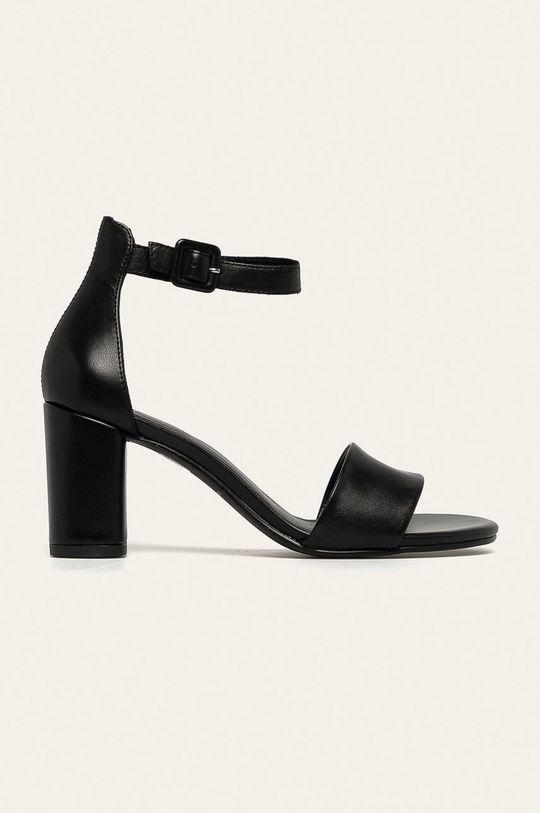 čierna Vagabond - Kožené sandále Penny Dámsky