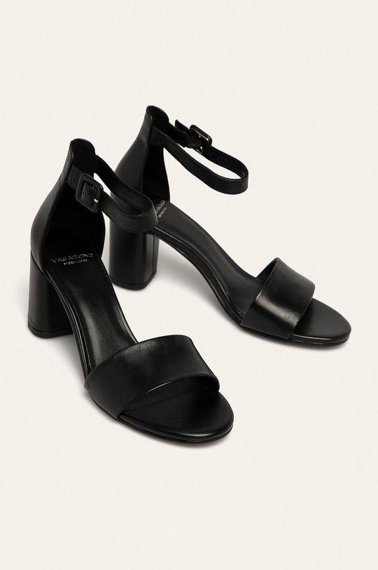 Vagabond - Kožené sandále Penny čierna