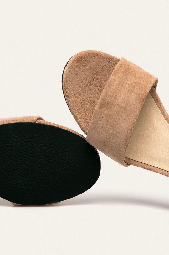 beżowy Vagabond - Sandały skórzane Penny