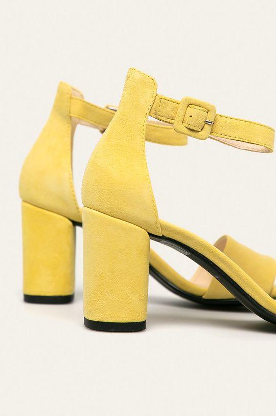 Vagabond - Sandale de piele Penny Gamba: Piele intoarsa Interiorul: Piele naturala Talpa: Material sintetic