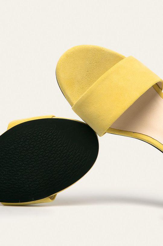galben Vagabond - Sandale de piele Penny
