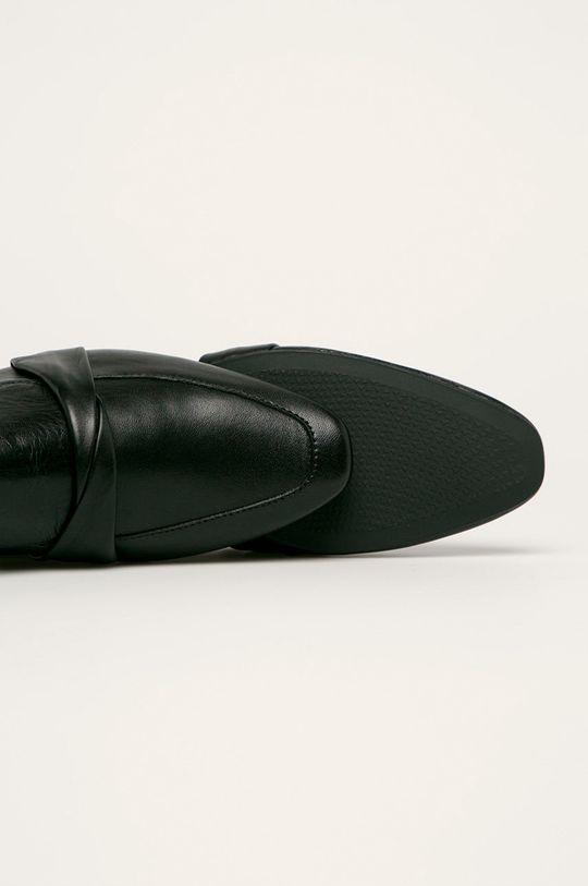 negru Vagabond - Mocasini de piele Celia