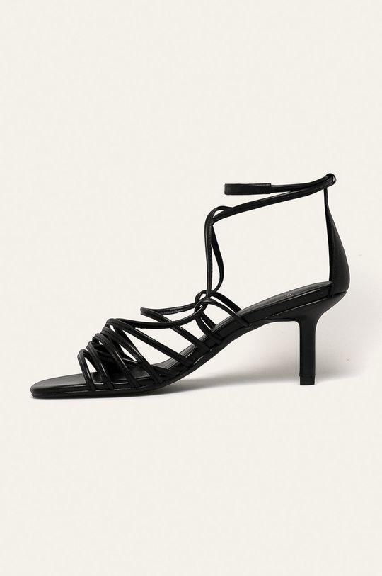 černá Vagabond - Kožené sandály Amanda