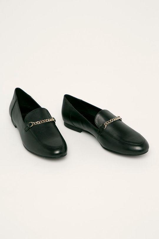 Vagabond - Mocasini de piele Eliza negru