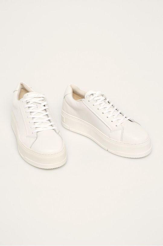 Vagabond - Kožená obuv Judy biela