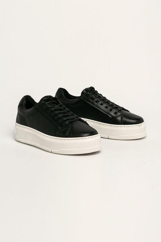 Vagabond - Kožená obuv Judy čierna