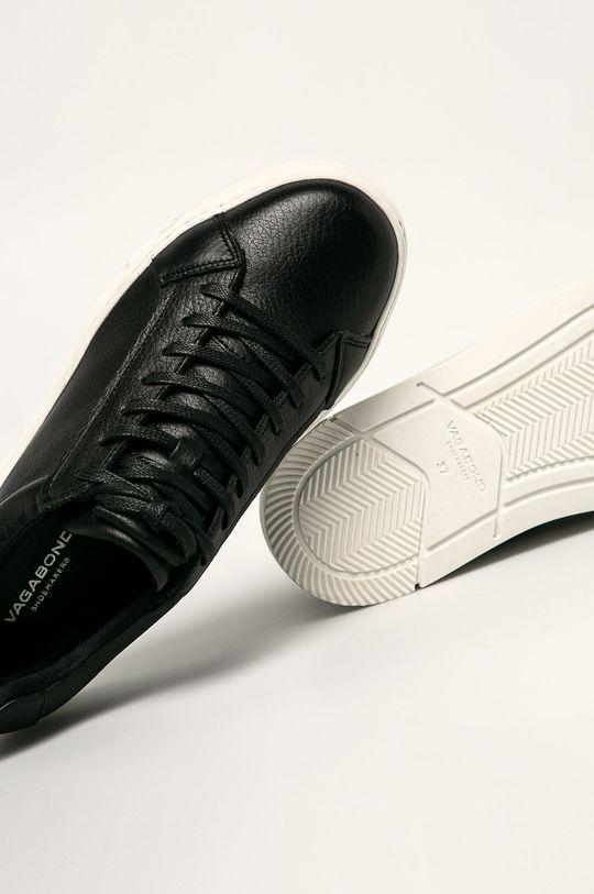 čierna Vagabond - Kožená obuv Judy