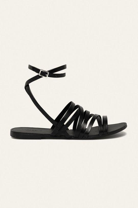 černá Vagabond - Kožené sandály Tia Dámský
