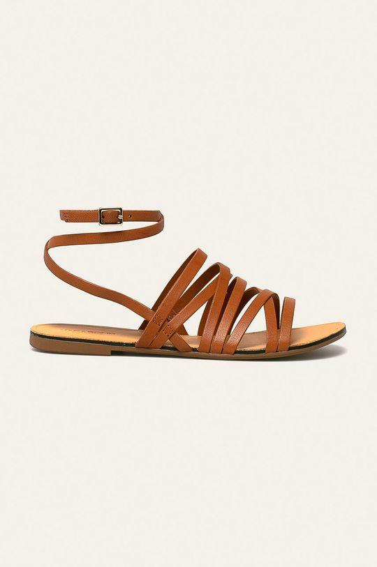 brązowy Vagabond - Sandały skórzane Tia Damski