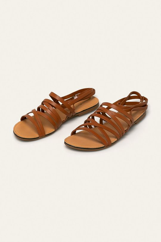 Vagabond - Sandały skórzane Tia brązowy