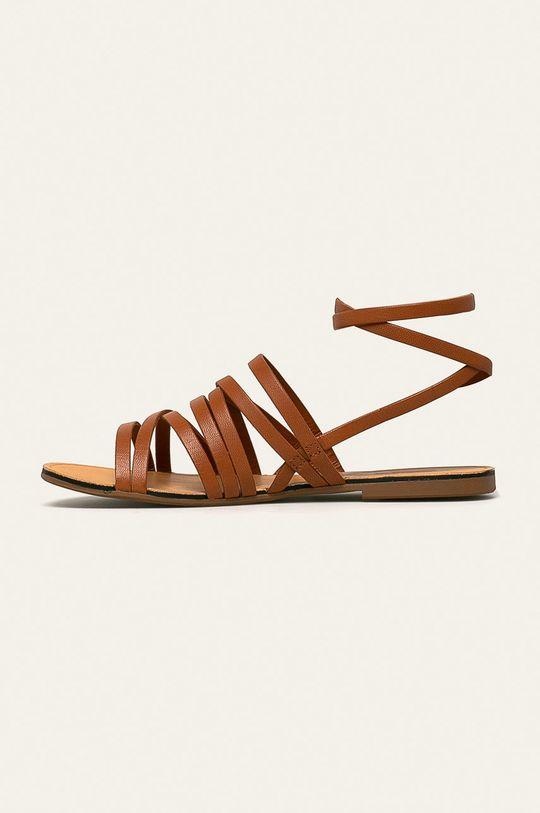 brązowy Vagabond - Sandały skórzane Tia