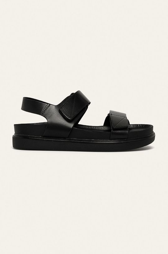 čierna Vagabond - Kožené sandále Erin Dámsky