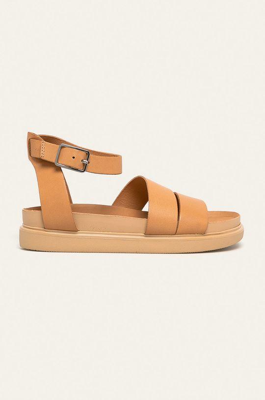 telová Vagabond - Kožené sandále Erin Dámsky