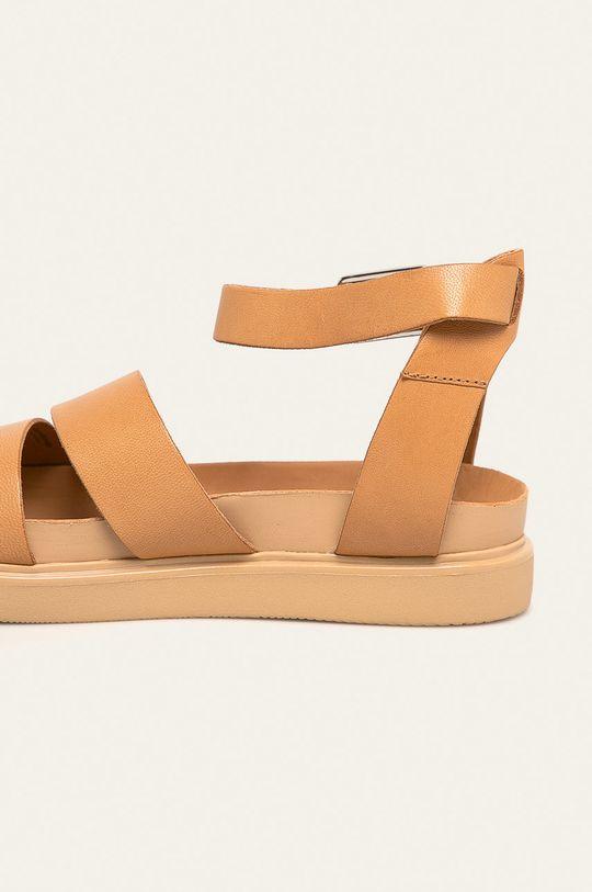 telová Vagabond - Kožené sandále Erin